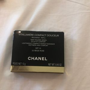 Chanel NWT Compact Makeup Refill Beige Rosé